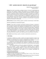 AIHA – Ambiente Interativo e Heurístico de ... - cinted/ufrgs