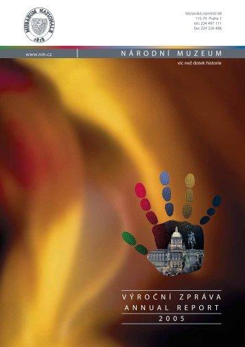 Výroční zpráva Národní muzeum 2005