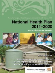 National Health Plan 2011–2020 - WHO Western Pacific Region