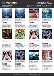 NOV-DEC Films - The Maltings