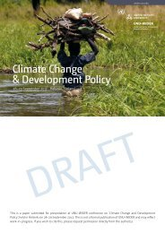 Climate change and agriculture: An integrated ... - UNU-WIDER