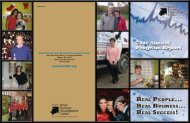 2008 Annual Report - New York State Small Business Development ...