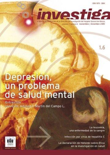 Boletín investiga 1.6 - Hospital General de México