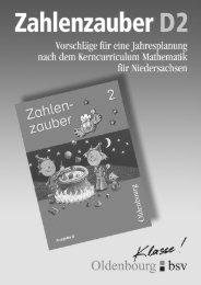 Zahlenzauber - Oldenbourg Verlag