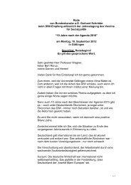 10 Jahre nach der Agenda 2010 - Verein für Socialpolitik