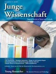 Download Leseprobe Ausgabe 78 als PDF - Junge Wissenschaft