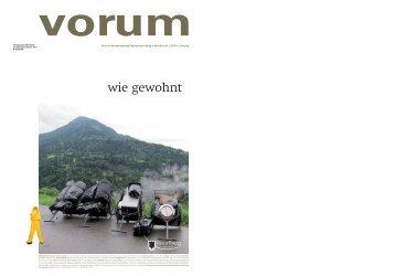 Wie Gewohnt - Vorarlberg