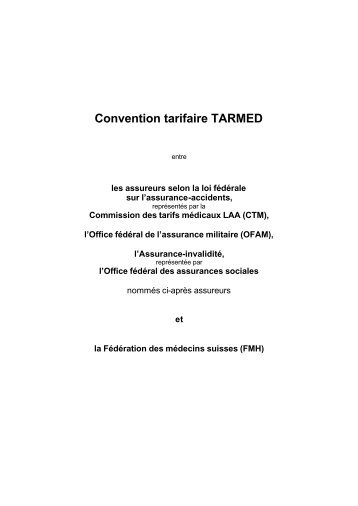 Convention tarifaire TARMED