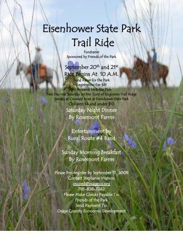 Eisenhower State Park - Kansas Horse Council
