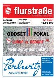 Flurstraße Nr. 01 - Saison 2013/2014 - SV Lurup