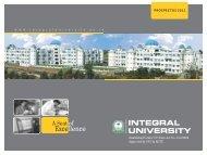 Prospectus-2011 - Integral University
