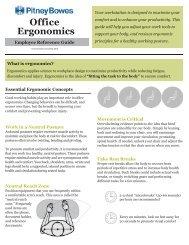Office Ergonomics - PROJECT: LIVING