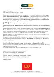 13. Ausstellung - KiSS Hamburg