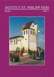 Fastenzeit (1,59 MB) - Institut St. Philipp Neri