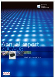 Annual Report 2007-08 - Plumbing Industry Commission