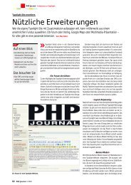 PHP Journal 01/2008 - Contao