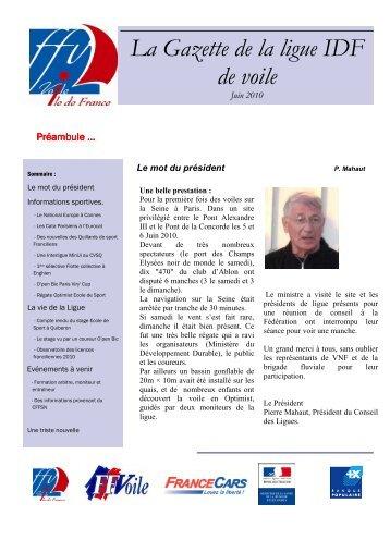 Gazette n°5 - FFVoile.fr