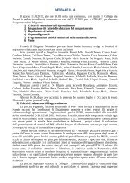15-02-2012 Verbale n. 4 del Collegio docenti del 11 gennaio 2012