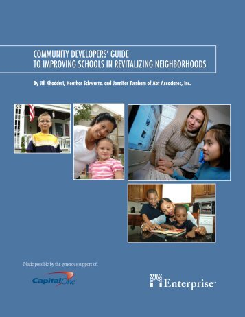 The Community Developers' Guide to Improving ... - abtassoc.us