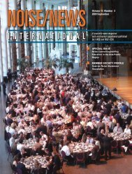 Volume 17, Number 3, September, 2009 - Noise News International