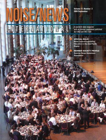 Volume 17, Number 3, September, 2009 - Noise News International