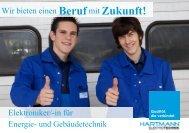 Berufmit Zukunft! - Hartmann Elektrotechnik GmbH