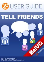 Tell Friends User Guide - BelVG Magento Extensions Store