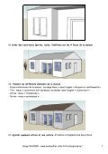 SKETCHUP – TP2 Maison - Page 4