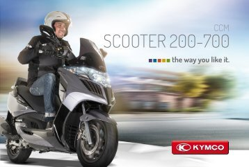SCOOTER 200-700 - Kymco