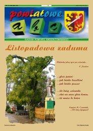 Powiatowe ABC - listopad 2009 - Powiat Radziejowski