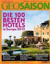 Die 100 besten Hotels in Europa - Schloss Elmau