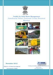 Toolkit for Solid Waste Management - JnNURM