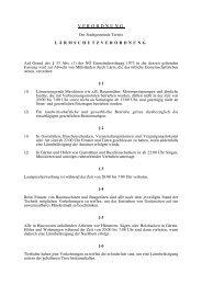 Lärmschutzverordnung - Stadtgemeinde Ternitz