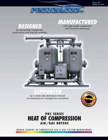 Heat of Compression Dryer - Air Mac