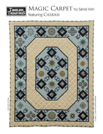 "Free Pattern for ""Casbah''- Click Here - Stitch-N-Frame"