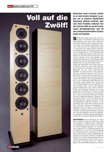 Aura 60 in Hifi-Test - System Audio