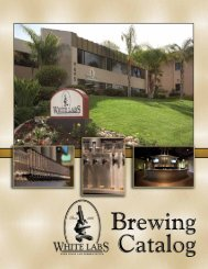 Brewing Catalog - White Labs