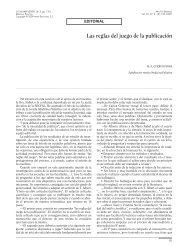 Las reglas del juego de la publicación - ORCPex