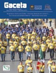 Gaceta 7 Septiembre.cdr - Universidad Autónoma de Coahuila
