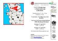 5. IVV-Wandertage 4. Radwanderung in Breklum