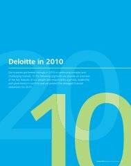 Deloitte in 2010 (PDF) - Annual Report 2011
