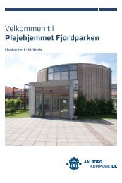 Velkommen til Plejehjemmet Fjordparken - Aalborg Kommune
