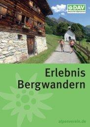 Erlebnis Bergwandern - Deutscher Alpenverein