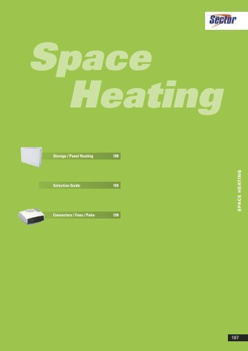 Space Heating - WF Senate