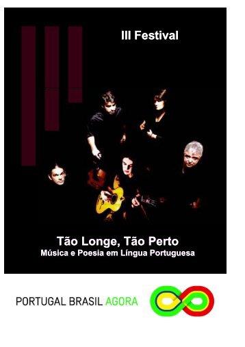 19h - Mesa Oficial de Abertura do III Festival Tão Longe Tão Perto ...