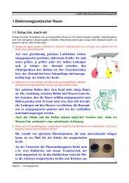 1 Elektromag(net)ischer Raum