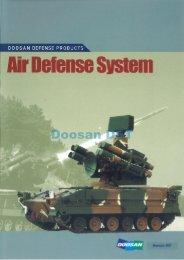 Doosan Air Defense System Catalog