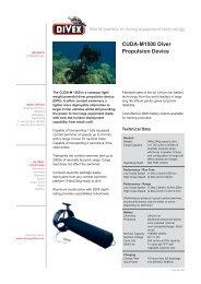 CUDA-M1500 Diver Propulsion Device