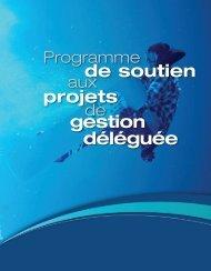 de soutien projets gestion déléguée - Ville de Gatineau