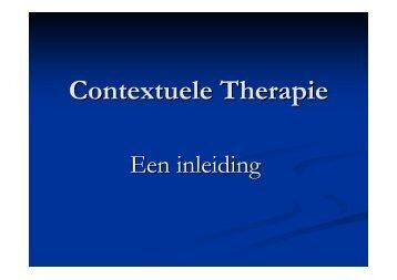 Contextuele Therapie